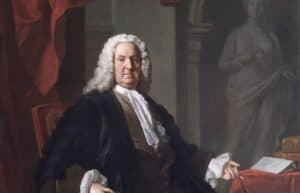 extract of picture at Foundling Hospital of Dr Richard Mead