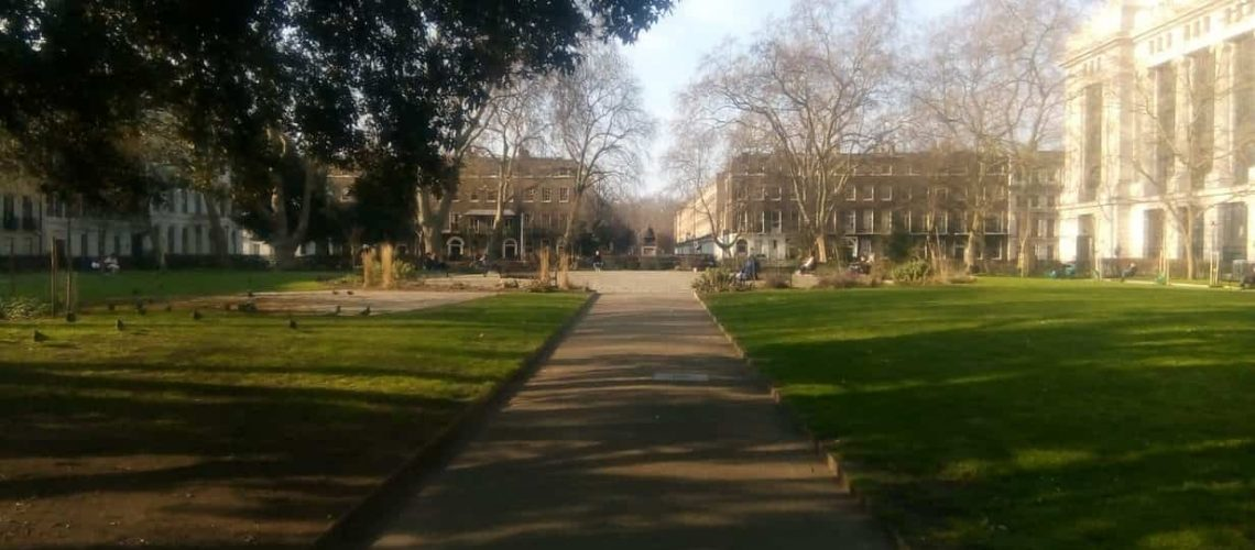 Photo of Bloomsbury Square from the south